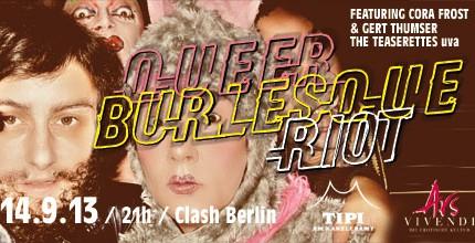 2. QUEER // BURLESQUE // RIOT / QueerBurlesqueFest